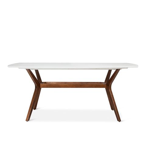 """72"""" Westbrook Midcentury Rectangle Dining Table"""