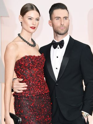 Behati Prinsloo Is Pregnant—See Her Bikini-Clad Baby Bump Reveal