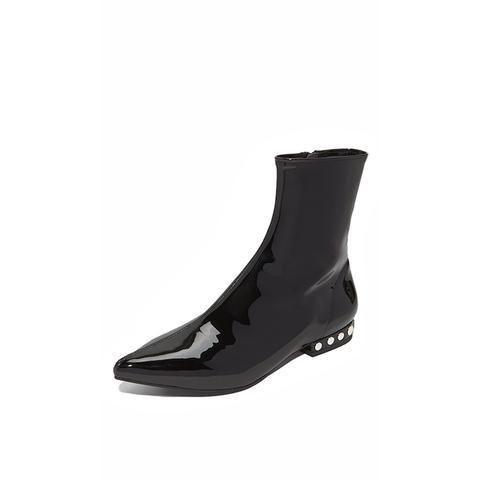 Tywin Studded Heel Booties