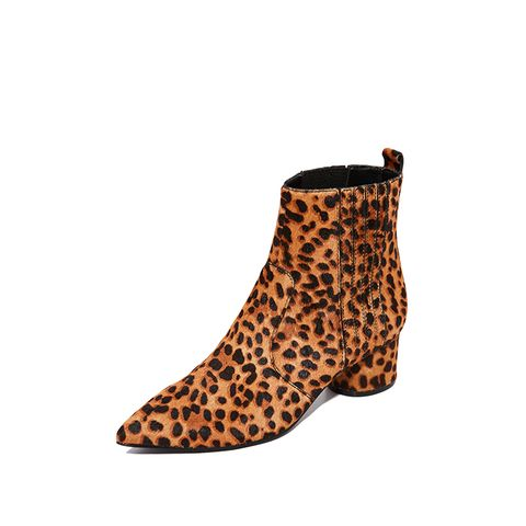 Lacely Leopard Booties