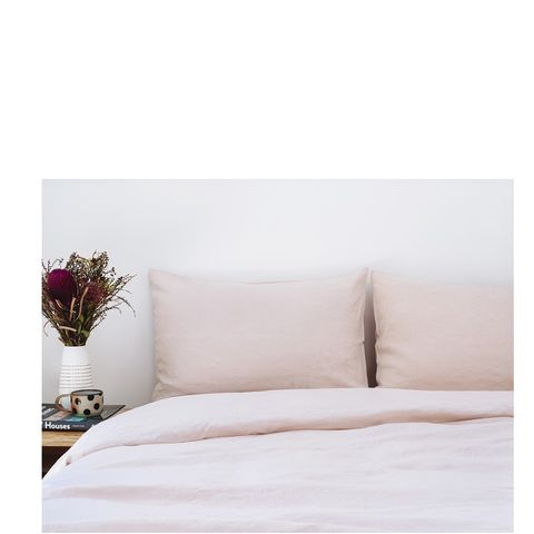 Super King French Linen Quilt Cover