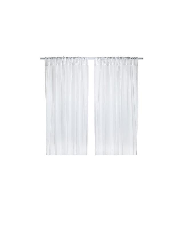 IKEA Sheer Curtains