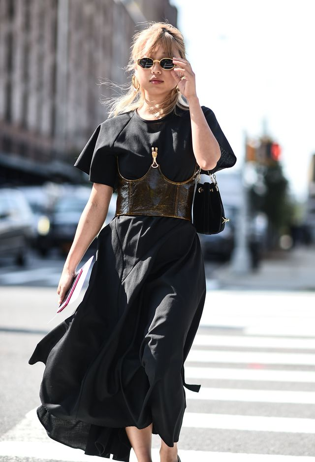 Margaret Zhang NYFW Outfits Street Style