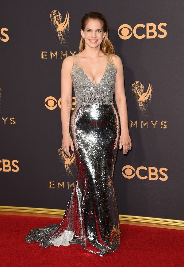 Anna Chlumsky Emmy Awards 2017 Red Carpet Celebrity Looks