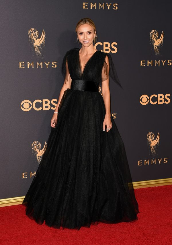Giuliana Rancic Emmy Awards 2017 Red Carpet Celebrity Looks