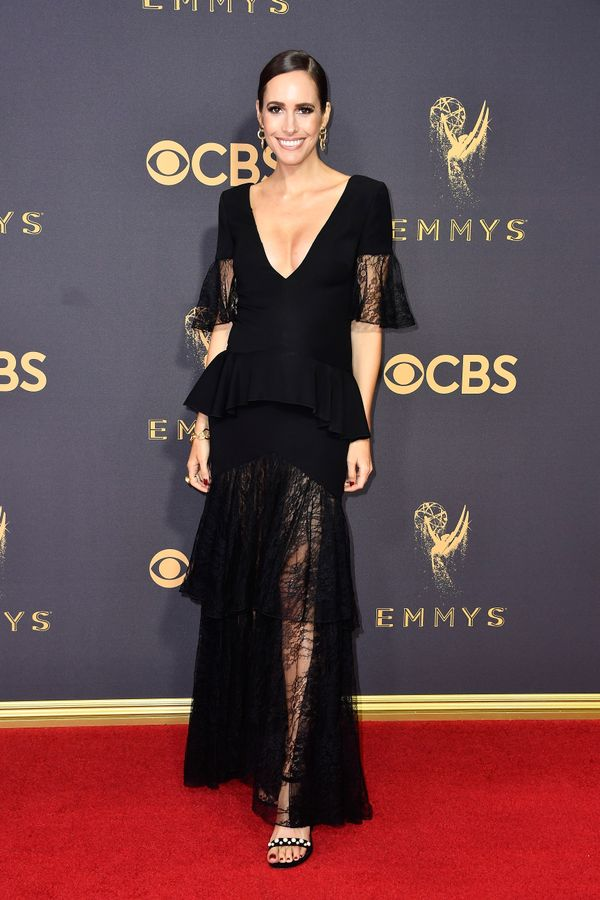 Louise Roe Emmy Awards 2017 Red Carpet Celebrity Looks
