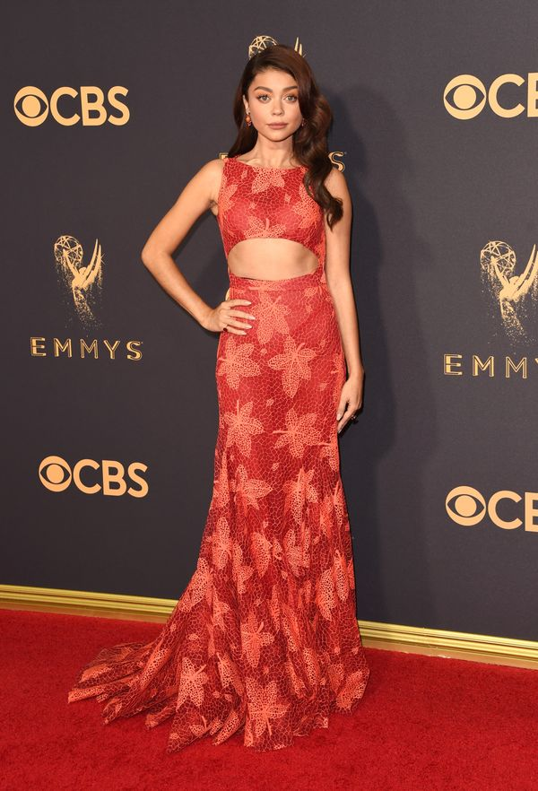 Sarah Hyland Emmy Awards 2017 Red Carpet Celebrity Looks