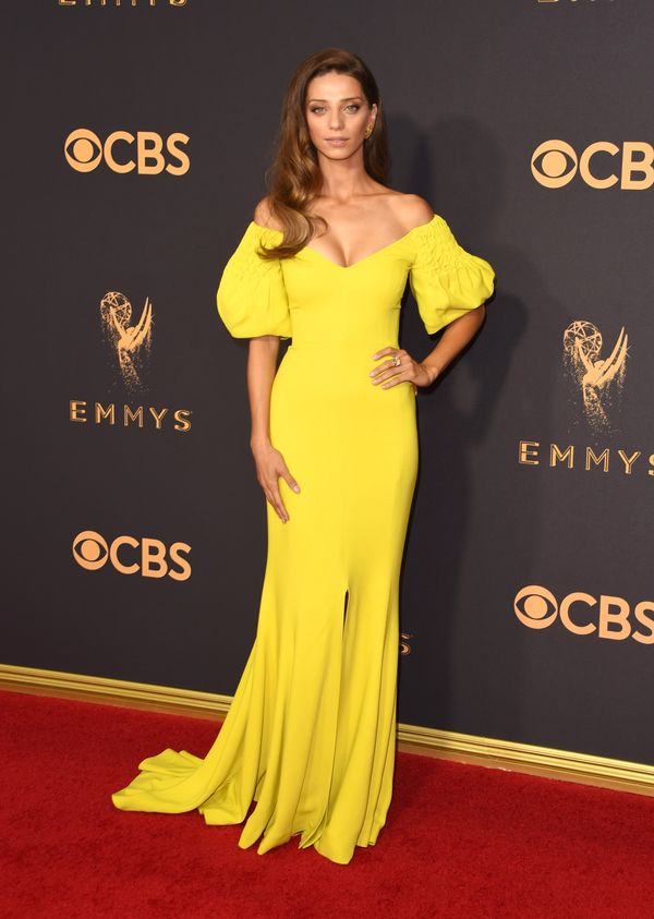 Angela Sarafyan Emmy Awards 2017 Red Carpet Celebrity Looks