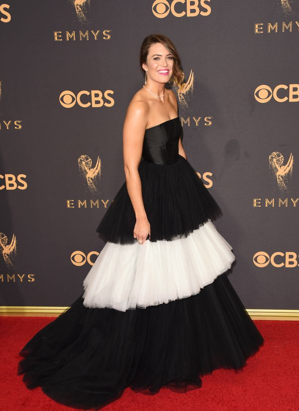 Mandy Moore Emmy Awards 2017 Red Carpet Celebrity Looks