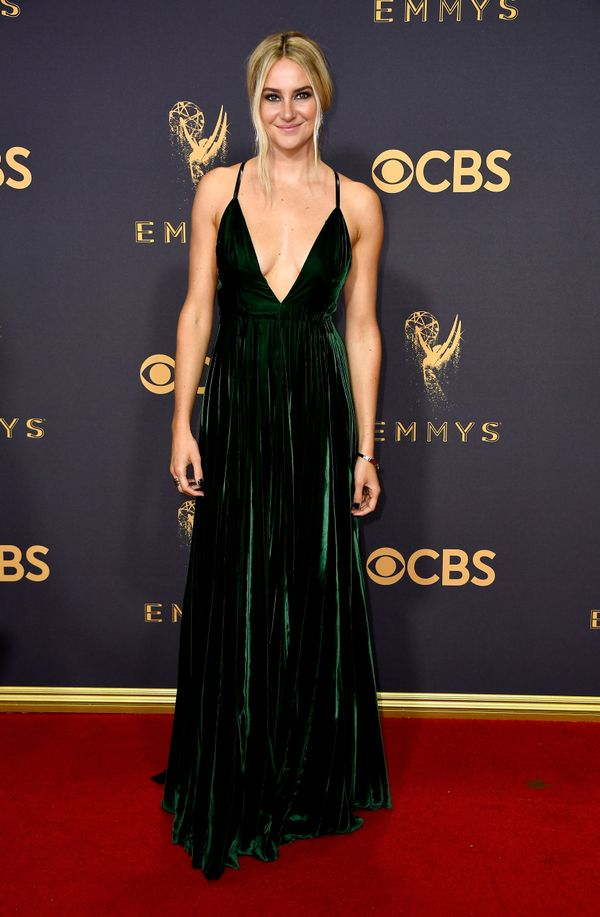 Shailene Woodley Emmy Awards 2017 Red Carpet Celebrity Looks