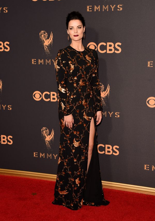 Jaimie Alexander Emmy Awards 2017 Red Carpet Celebrity Looks