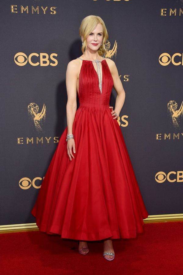 Nicole Kidman Emmy Awards 2017 Red Carpet Celebrity Looks