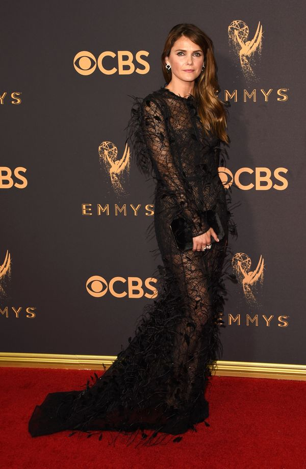 Keri Russell Emmy Awards 2017 Red Carpet Celebrity Looks