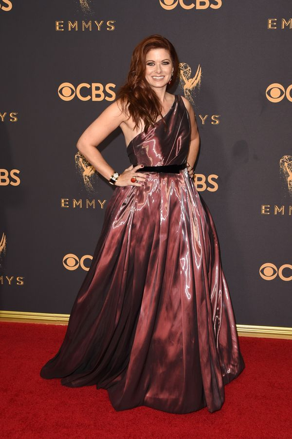 Debra Messing Emmy Awards 2017 Red Carpet Celebrity Looks