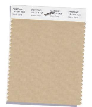 Classic PANTONE 15-1214: Warm Sand
