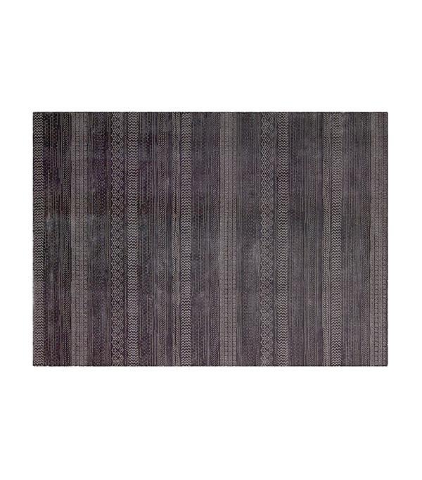 maya overdye - delta rug in wineberry