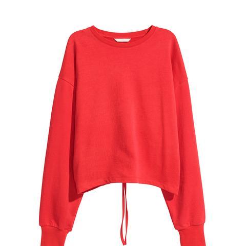 Sweatshirt With Opening