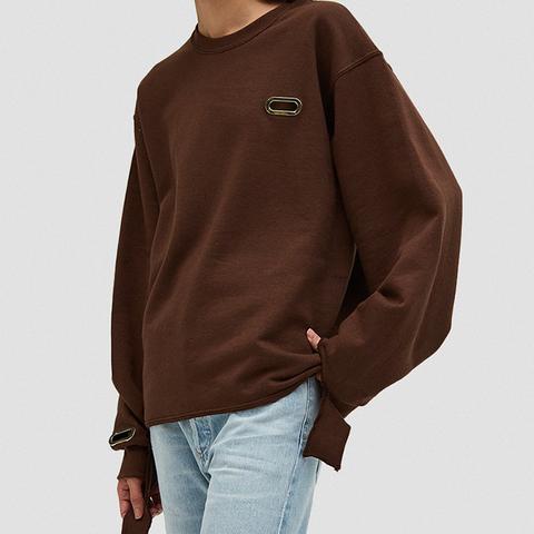 Sweatshirt Grommeted in Nude56