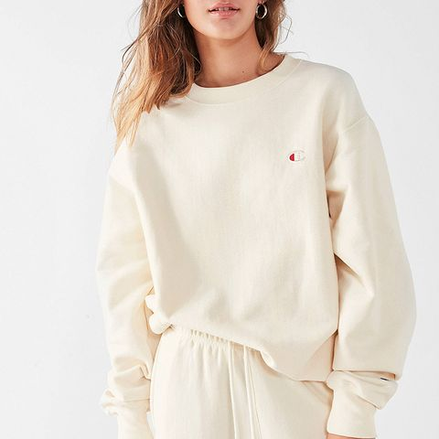 Reverse Weave Pullover Sweatshirt