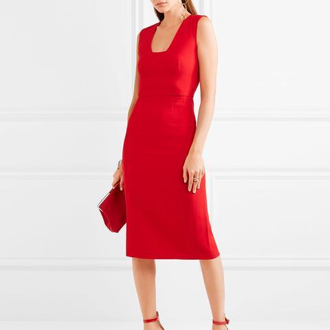 Stretch-Cady Dress