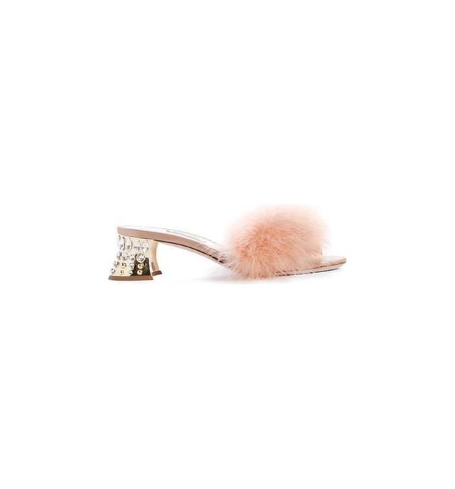 Feather Slide Sandal