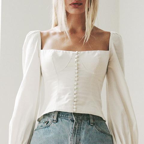 Victorian Cotton Top
