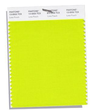 PANTONE 13-0550: Lime Punch