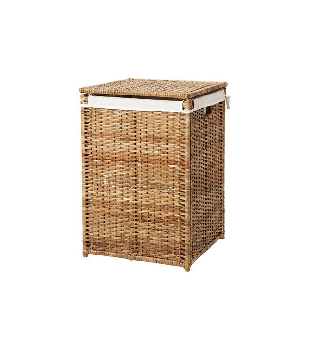 IKEA Branas Rattan Laundry Basket