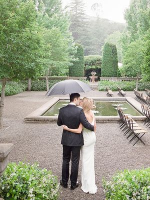 9 Reasons You Want Rain on Your Wedding Day (According to Real Brides)