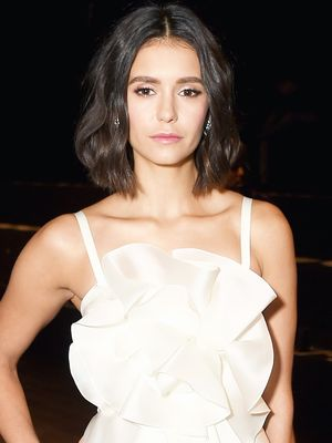 Nina Dobrev's Unexpected Party Look Is the Perfect LBD Alternative