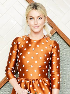 "Julianne Hough Calls These Polarizing Pants Her ""Go-To"" for Everything"