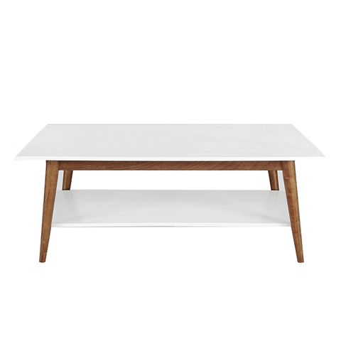 Amherst Mid Century Modern Two-Tone Coffee Table