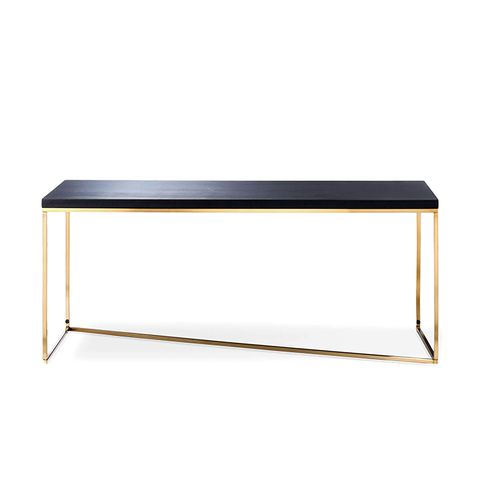 Sollerod Coffee Table in Brass and Black