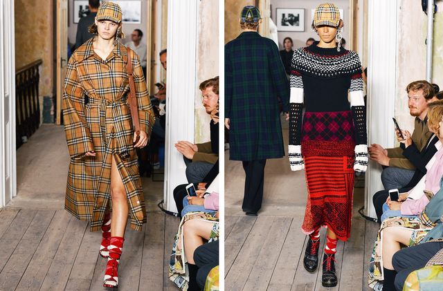 Burberry's September 2017 Show