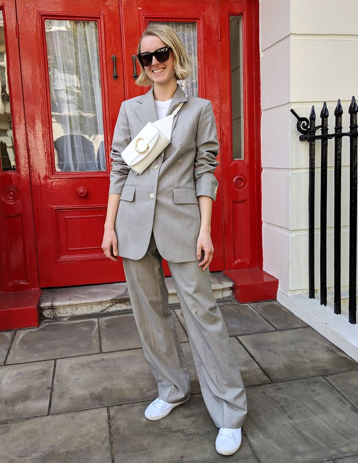 How to wear a trouser suit: