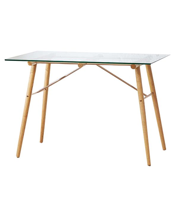 Gabriella Desk - Clear One Size at Urban Outfitters