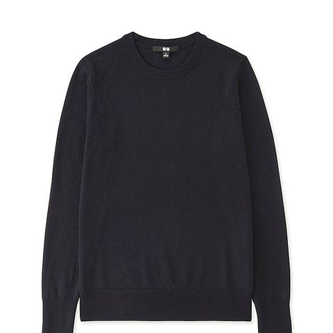 Women's Extra Fine Merino Crew Neck Sweater