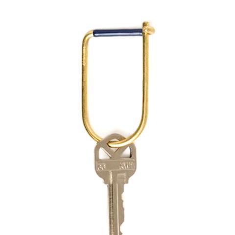 Wilson Key Ring in Blue
