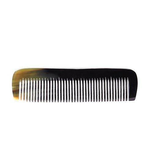 Natural Horn Small Toothed Comb