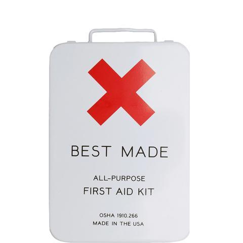 Large Metal First Aid Kit