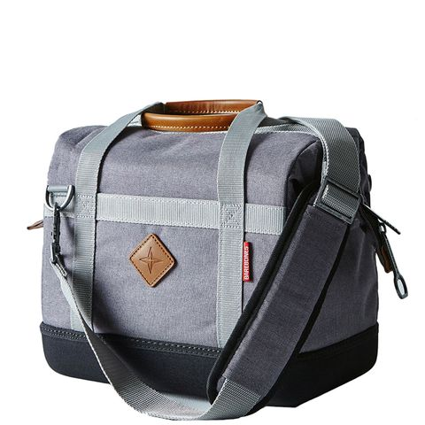 Structured Nylon & Leather Travel Cooler