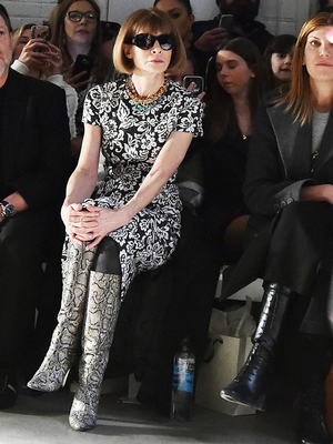Surprise: Anna Wintour Says You Can Wear Flip-Flops With This