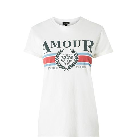 Amout Slogan T-Shirt