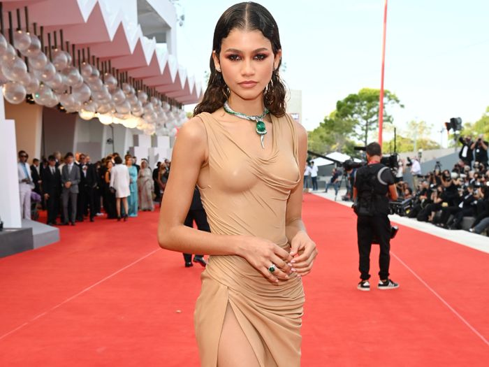 The Naked-Dress Trend Is Now So Naked That It's Barely There at All