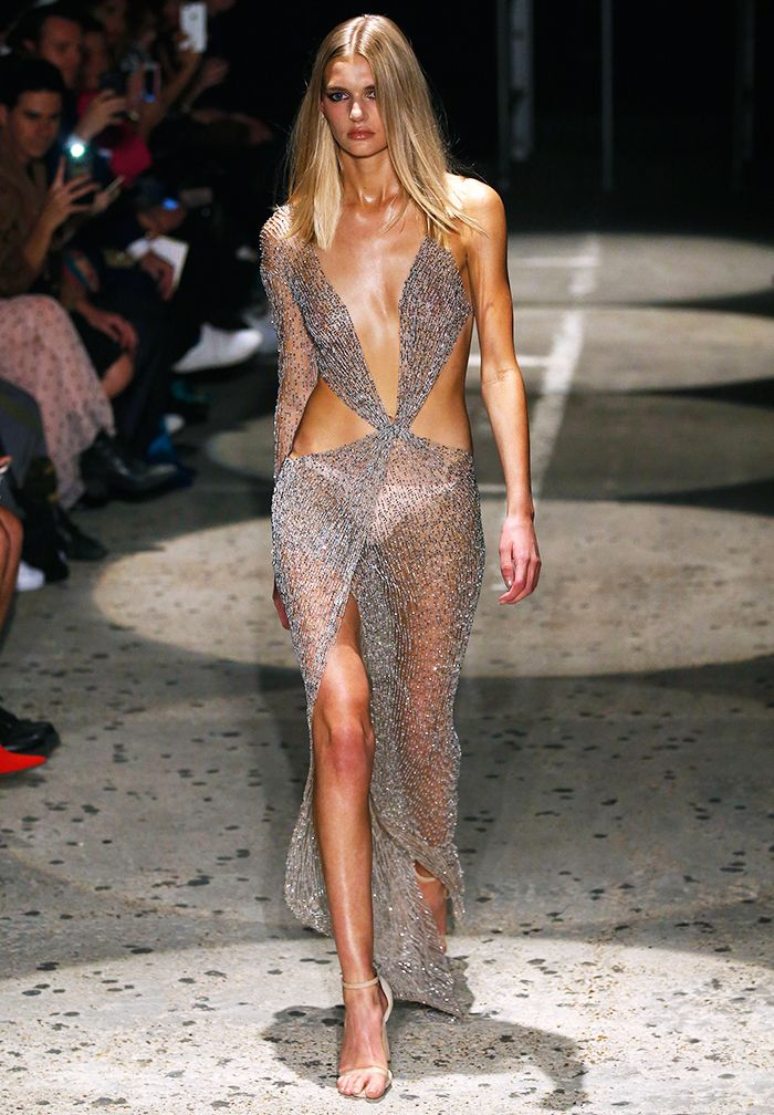 The Naked Dress Trend in Real Life | POPSUGAR Fashion