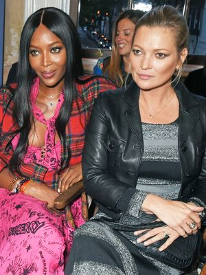 Kate Moss and Naomi Campbell Just Had the Chicest Reunion at Burberry