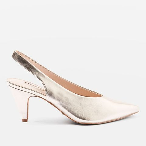 Jetset Slingback Heel Shoes
