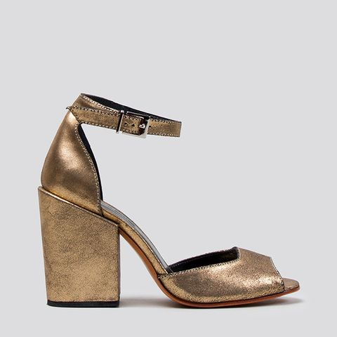 Coppa in Old Gold Leather