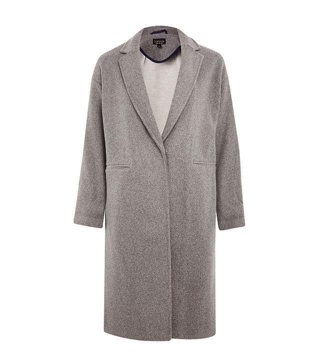 gray coat for women