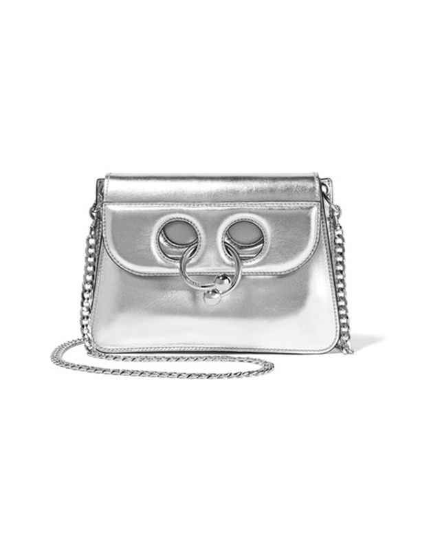 J.W Anderson Pierce Mini Metallic Leather Shoulder Bag
